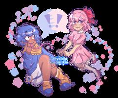 Gooey And Chuchu by kozumiiku