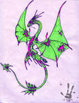 Pink Butterfly Dragon