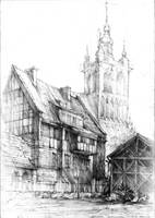 Gdansk architecture by amilanowska