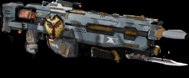 Telemarchus Assault Rifle