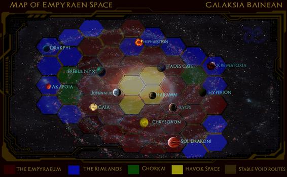 Empyraen Galactic Map