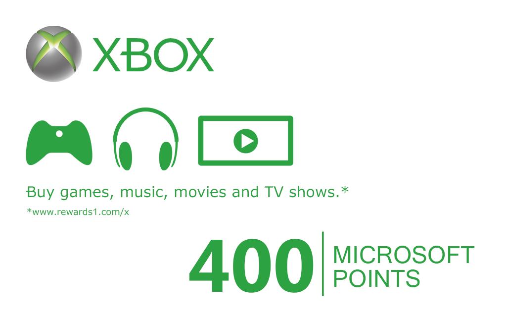 Xbox Microsoft Points ...