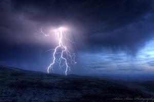 Lightning by adamsimsphotography