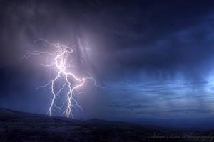Lightning 2 by adamsimsphotography