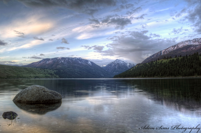 Wallowa Lake 2 by adamsimsphotography