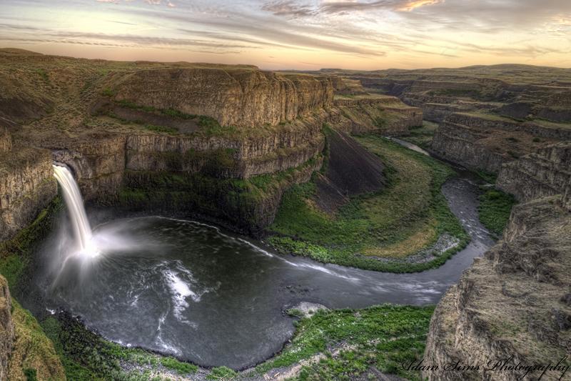 Palouse Falls by adamsimsphotography