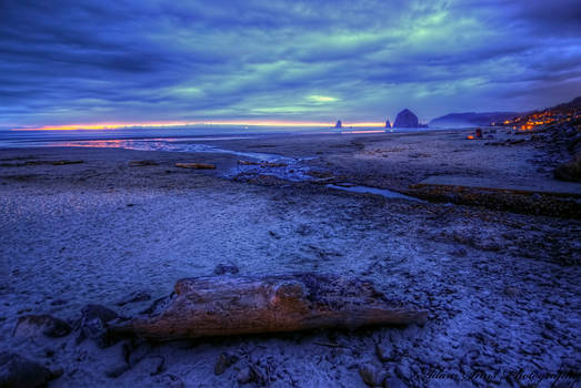 Cannon Beach Sunset 3-28-13