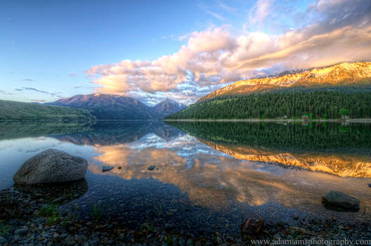 Wallowa Lake Sunrise 6-3-13
