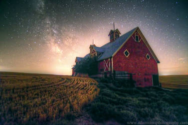 Eastern Oregon Barn and Milky Way 8-11-13