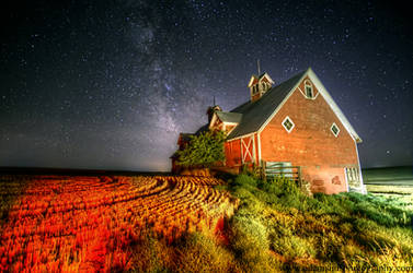 Eastern Oregon Barn and Milky Way 9-7-13