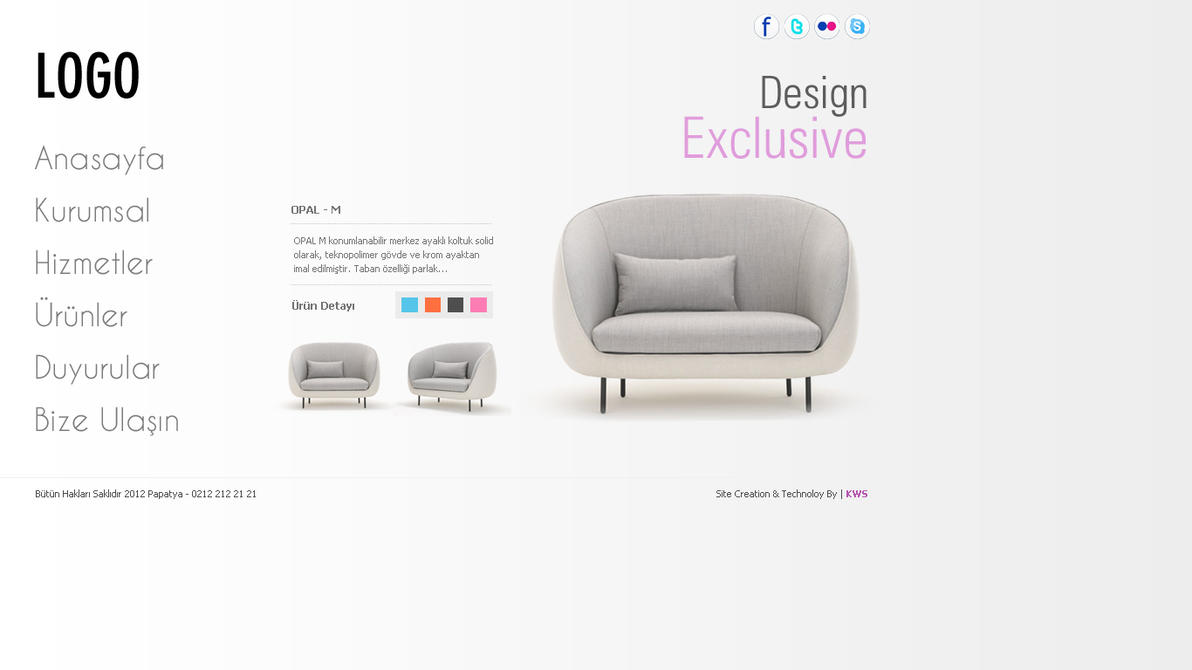 Gentil Furniture Web Design By Djonmaya ...