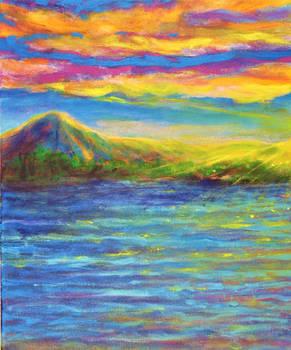 Colorful Earth series, Sun Spot.