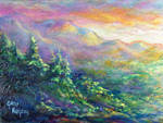 Catskill Mountain Sunset
