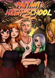 Cover Mutant High-School (Naruto Fan-Douji)