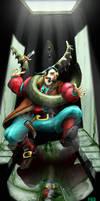 Otyugh grabs crimelord by Rammbolt
