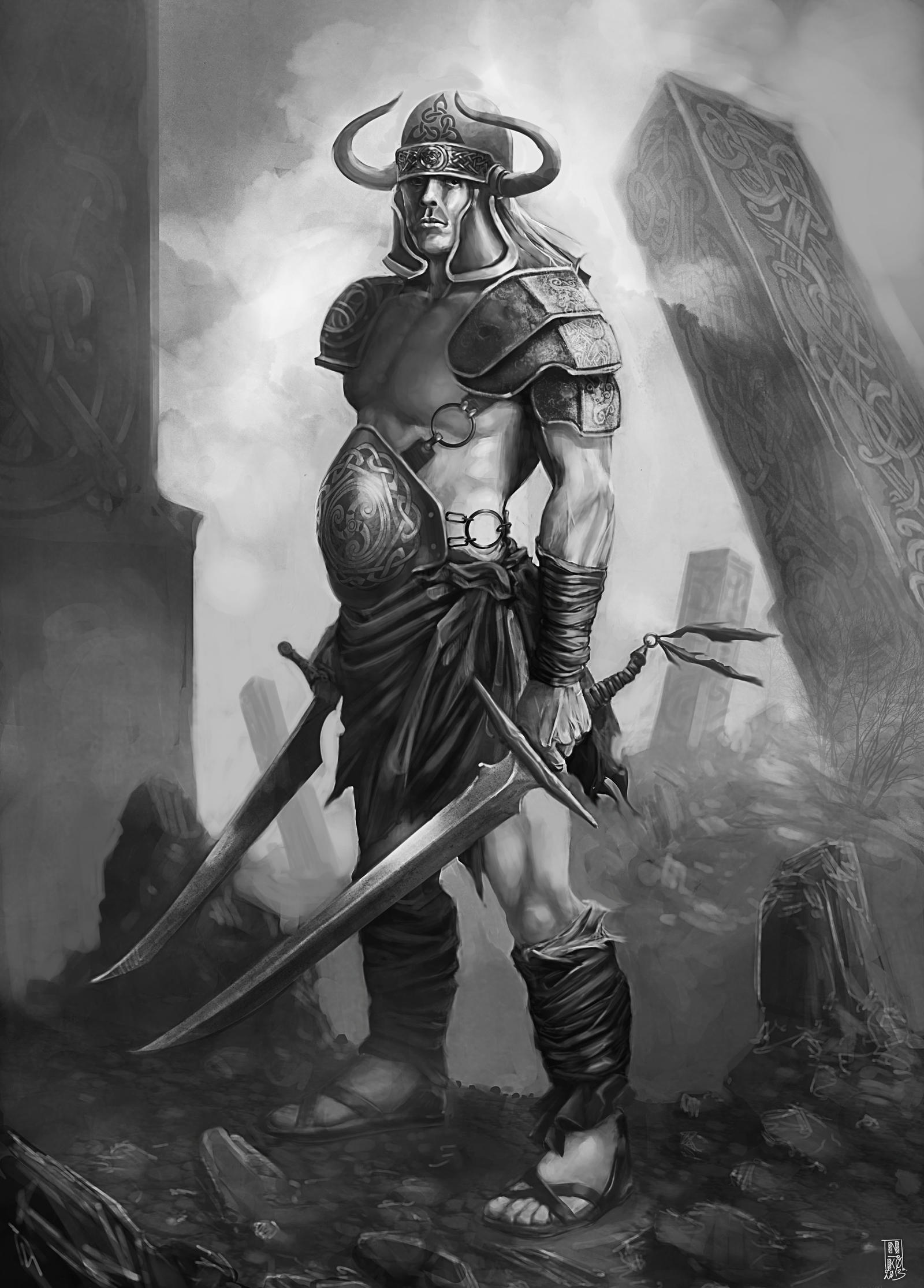 Celtic women warriors nude xxx clips