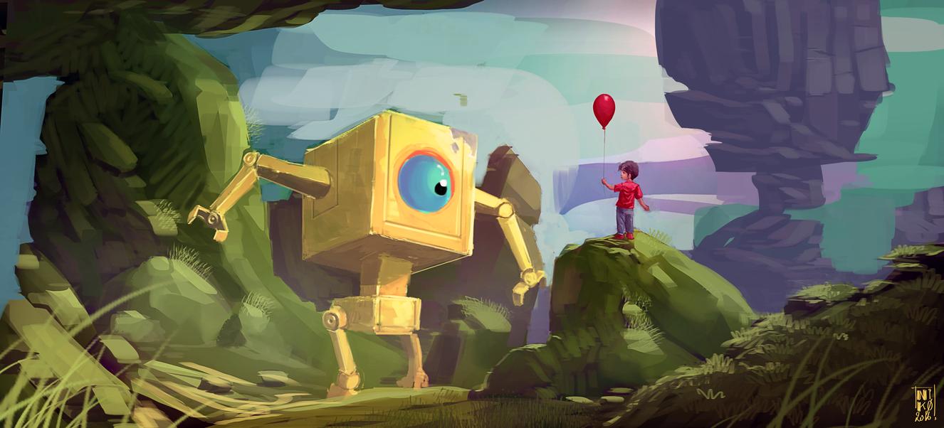 Yellowbot2 by cornwainer