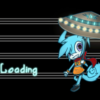 Loading animation by Cyane-ei