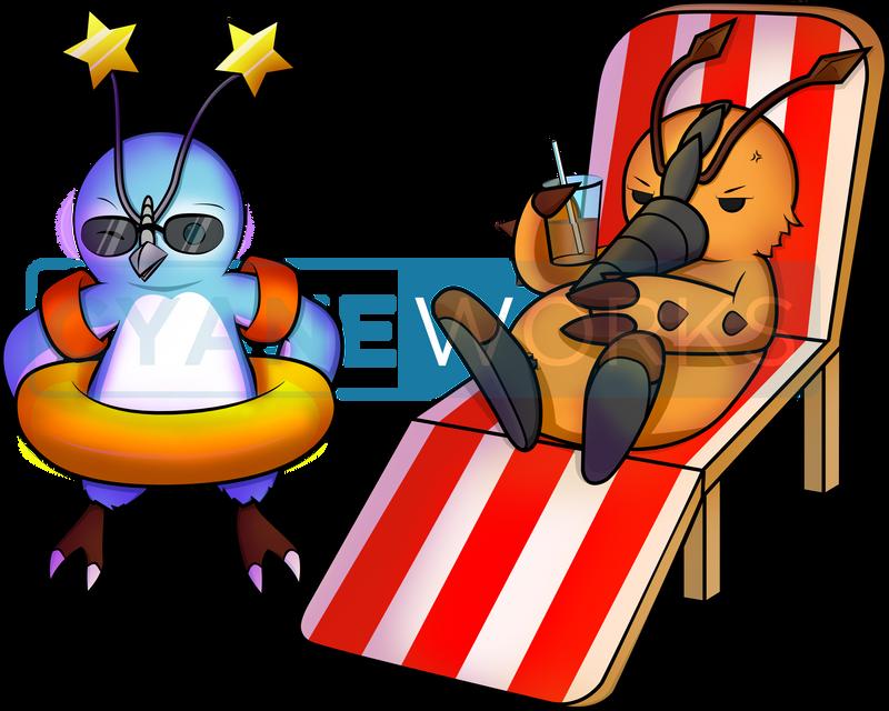 Summer Rappies by Cyane-ei