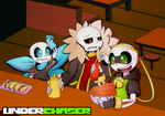 .:UNDERCHASER:. At Grillby's