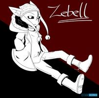Patreon reward: Zebell by CyaneWorks