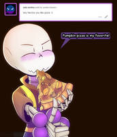 Ask: Does Nectos like pizza? by CyaneWorks
