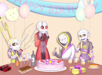 Birthday Party by CyaneWorks
