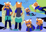 Commission: Full Sashy ref by CyaneWorks