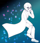 Reward Hass!Gaster by CyaneWorks