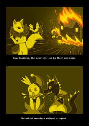 Underchaser Gaster Story chapter 1 page 3 by CyaneWorks