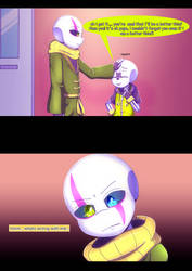 Underchaser Gaster Story chapter 1 page 13