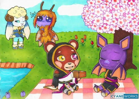 Reward Tenkei picnic date