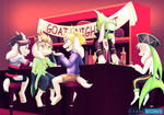 Comm Goats Night Out