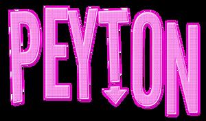 Peyton PNG