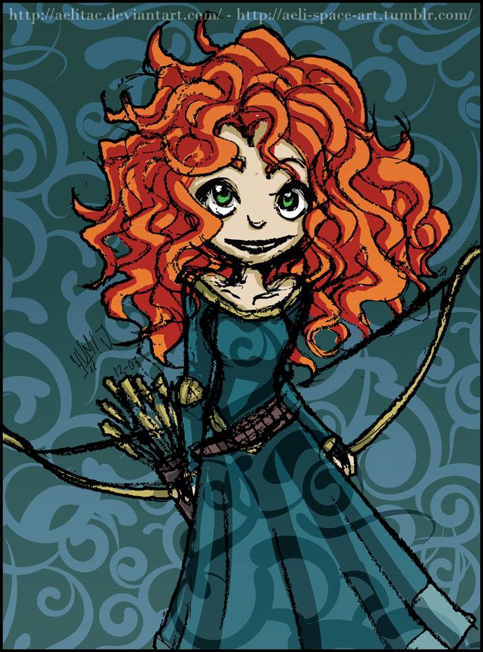 MERIDA - Princess - Archer by AelitaC