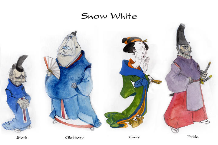 Snow White Concepts II by Bogamaz