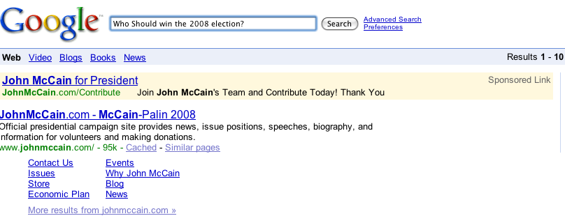 McCain by courtkid