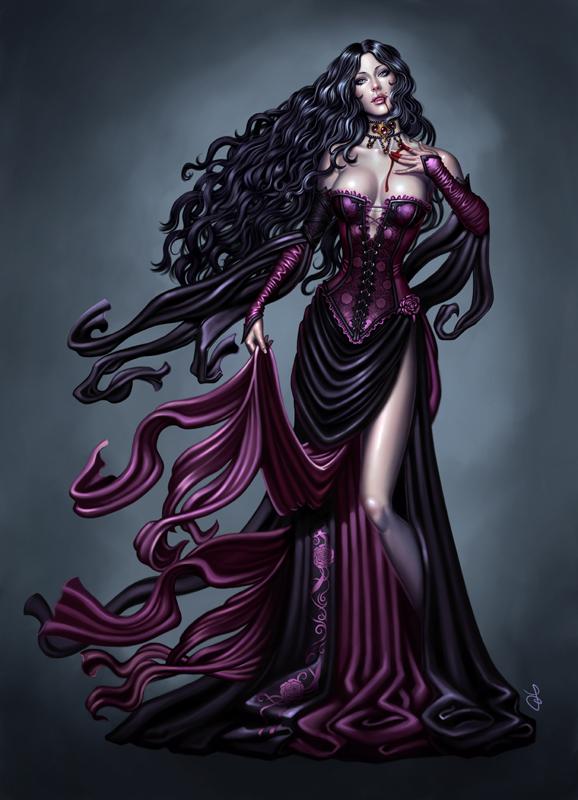 Vampiresse by SaraForlenza
