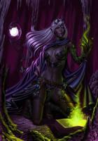 Dark Elf by SaraForlenza