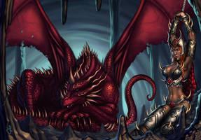 Dragon's Lair by SaraForlenza