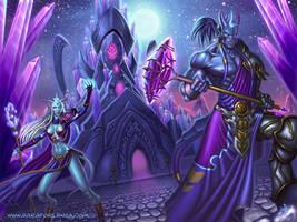 Exodar Defenders by SaraForlenza