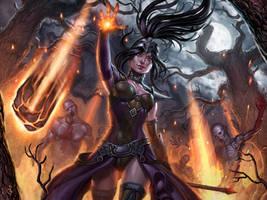 Diablo 3 Wizard by SaraForlenza