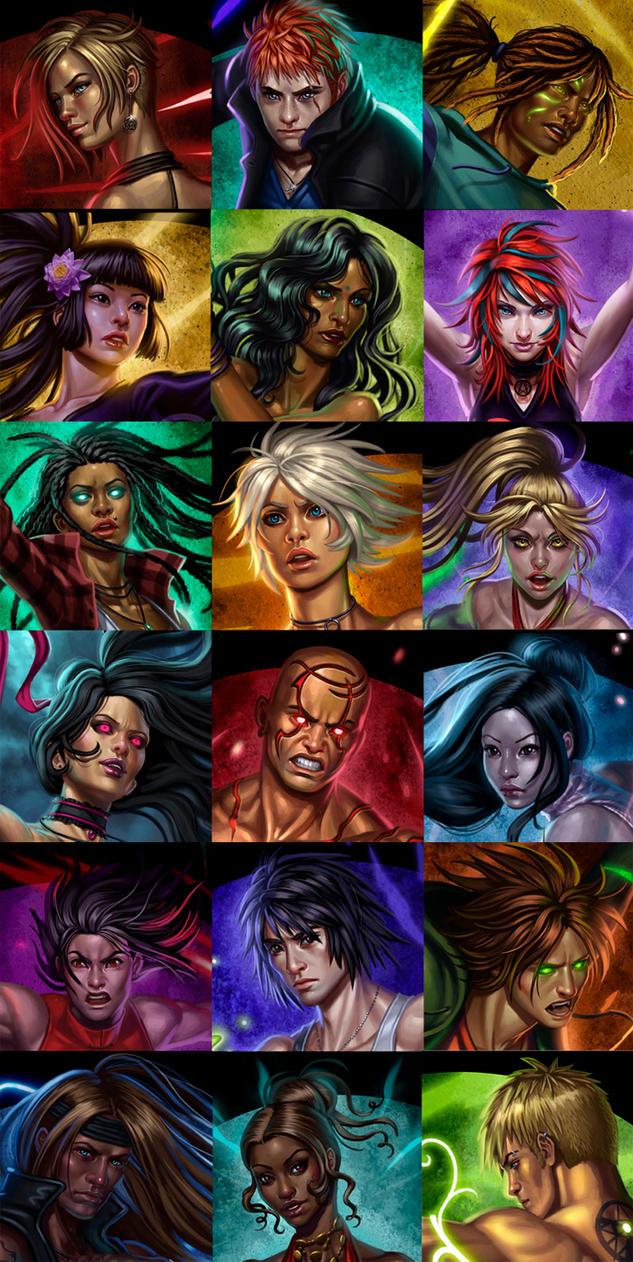 18 faces by SaraForlenza
