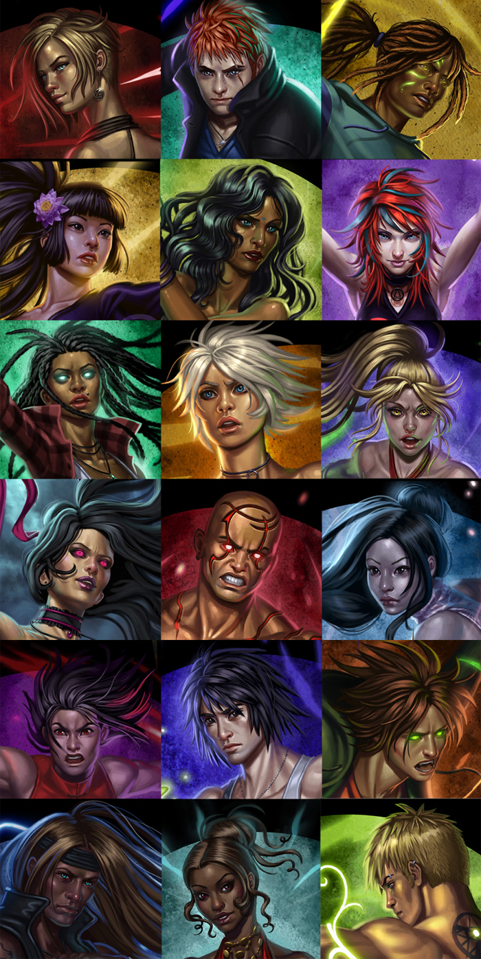 18 faces by SaraForlenza
