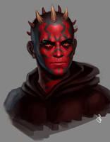 Sith portrait by SaraForlenza