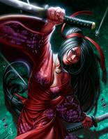 Katana girl by SaraForlenza