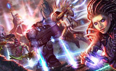 Heroes of the Storm: Fighting Legends