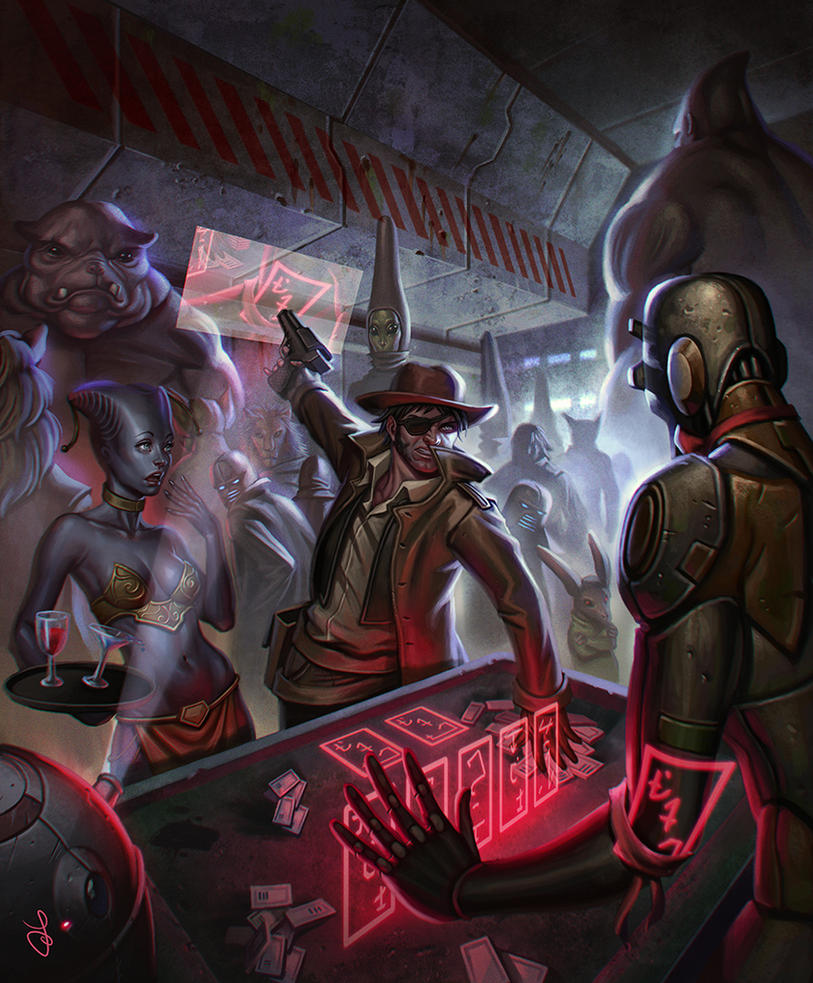 Gambling den by SaraForlenza
