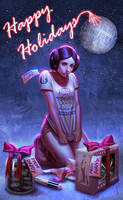 Weird Christmas gifts for Leia by SaraForlenza