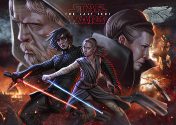 The Last Jedi by SaraForlenza